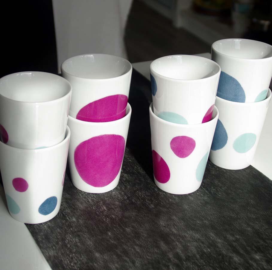 tasses porcelaine créateur