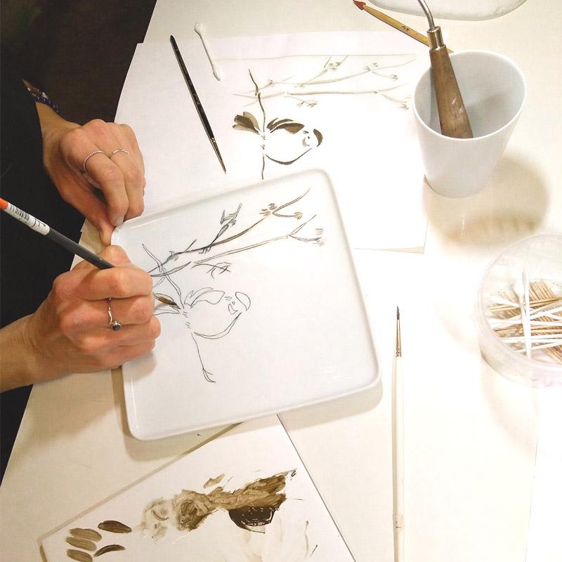 pinceaux-peinture-porcelaine