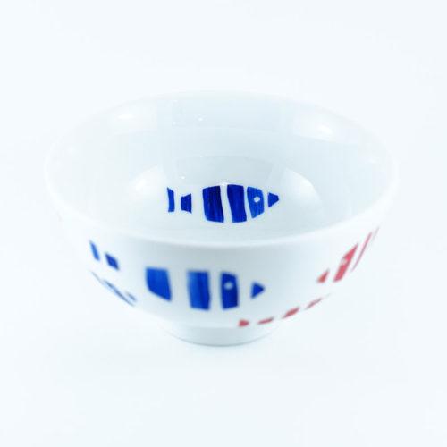 """Bol petit modèle en porcelaine, collection Aquatic, série """"Poisson"""""""