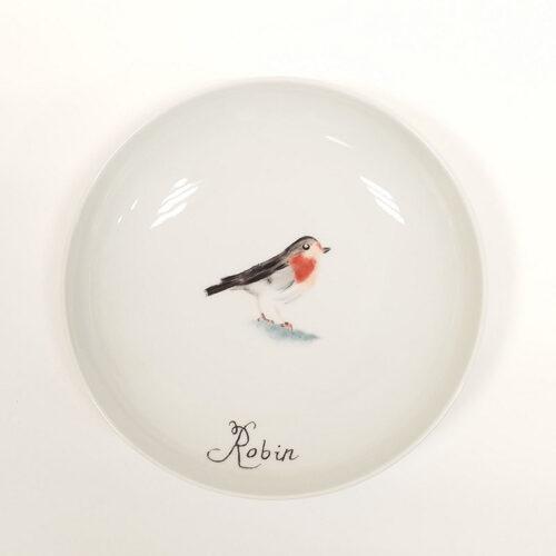 réalisation des objets peints à l'atelier par les élèves : Assiette