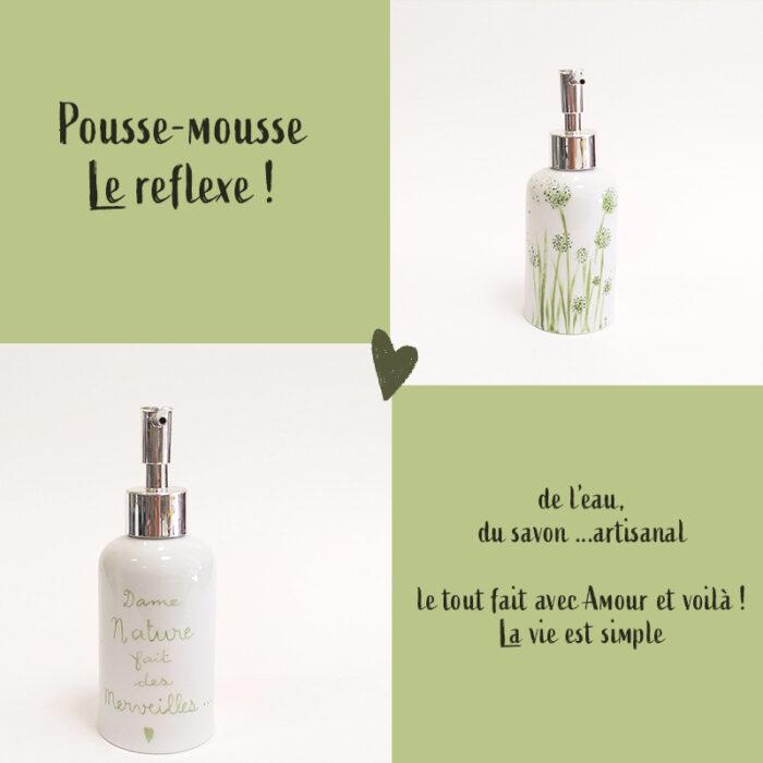 visuel pour la collection Chlorophylle : Pousse-mousse