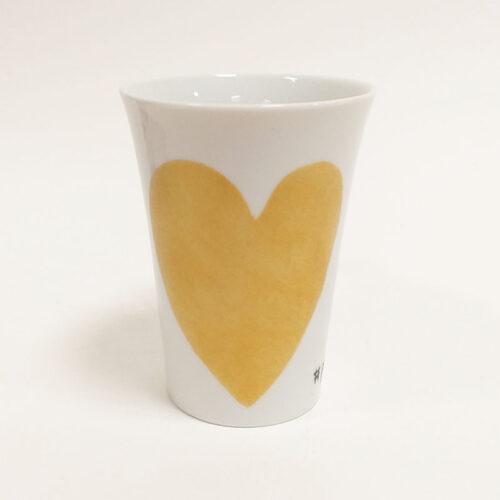 mug conique 12 collection Fais un voeu, peint à la main
