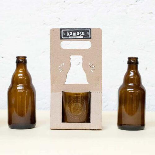 Bougie végétale naturelle au colza, mèche en bois et verre recyclé. Fabrication lyonnaise - Lyon