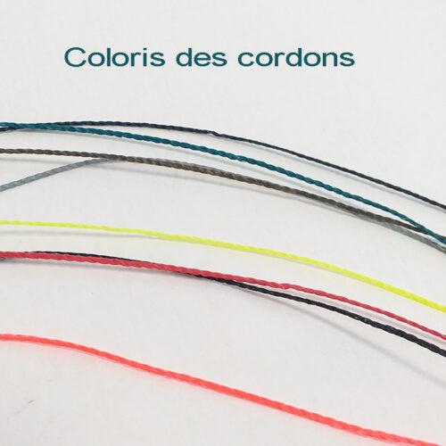 Cordon pour bracelet ou pendentif