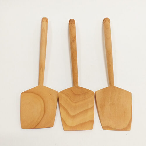Spatule en bois de cerisier. Fabrication artisanale française.